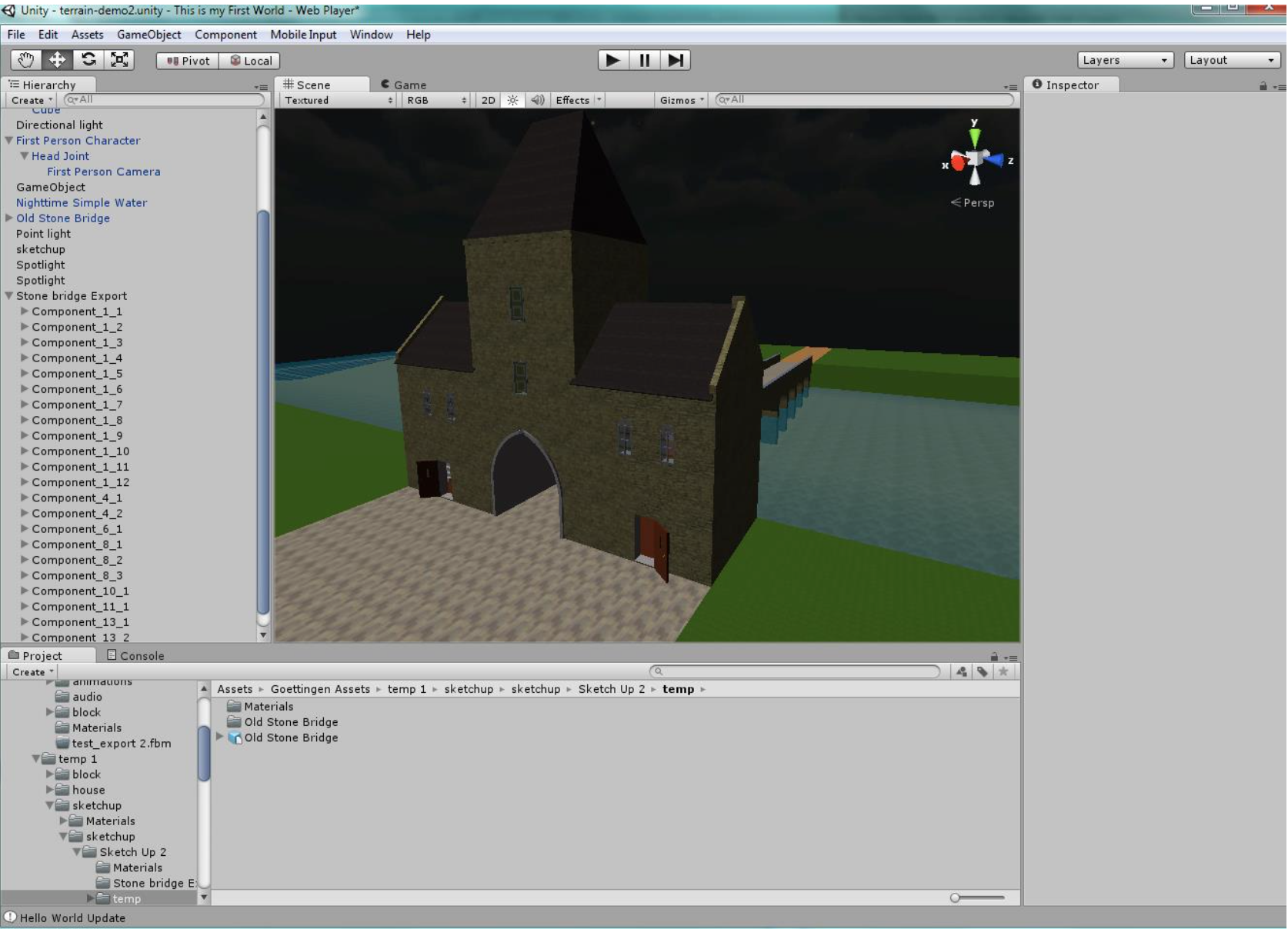 Step by Step Tutorial: Export from SketchUp to Unity3D